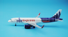 Special offer PandaModel 1: 400 Hong Kong Express A320neo / w B-LCL Alloy aircraft model Collection model Holiday gifts(China)