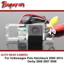 For Volkswagen VW Polo Hatchback Derby 00-14 Night Vision Rear View Camera Reversing Camera Car Back up Camera HD CCD Wide Angle(China)