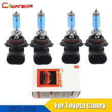 Cawanerl 4 X 9005 9006 100W Car Light Halogen Bulb Headlight 12V Styling For Toyota Camry 2000-2006(China)