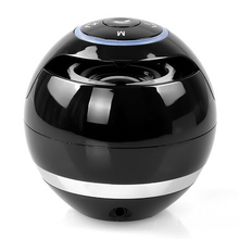 LED Ball Mini Portable Wireless Bluetooth Speaker Stereo Super Bass Loudspeaker Sound Box Music Player Support TF Card AUX Input(China)