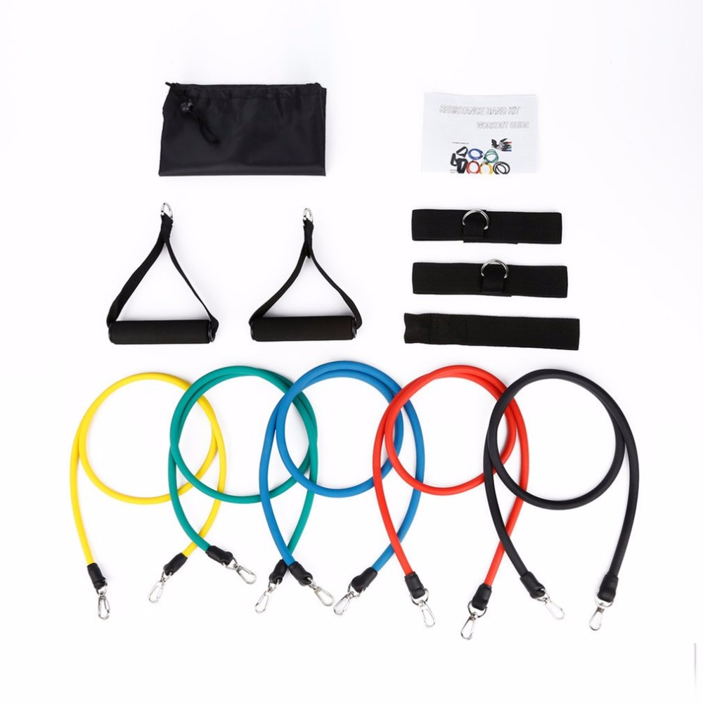 Natural Latex Belt Resistance Band Stretch Bands Straps Accessories Elastic Gym Yoga Fitness Training Equipment Drop Shipping