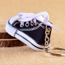 Fashion Canvas Shoes car key chain straps keychain Charm Cords DIY Hang Rope Lanyard For mobile phone Rope decoration(China)