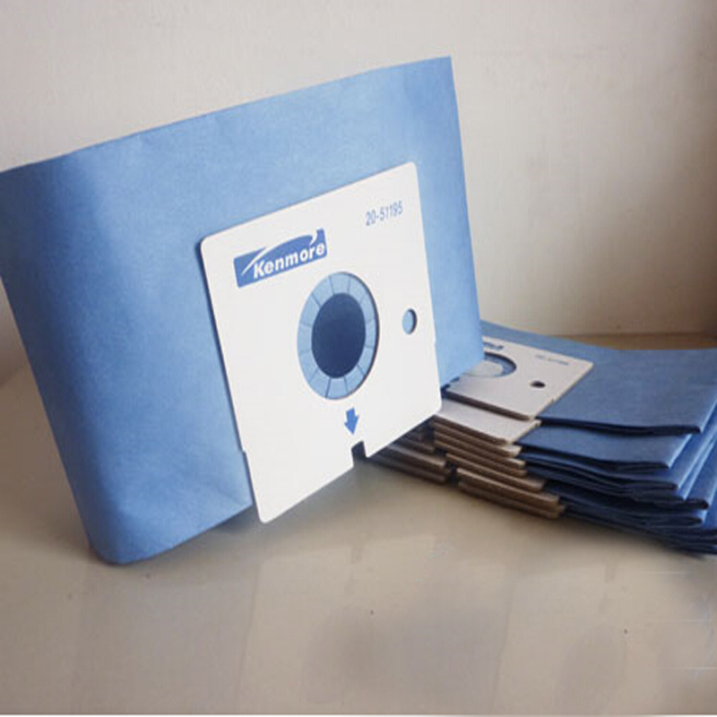 Paper dust bag  suitable for Sears/Kenmore Style M 51195 Canister Vacuum Cleaner Bags Model Magic Blue 21195  free shipping<br><br>Aliexpress