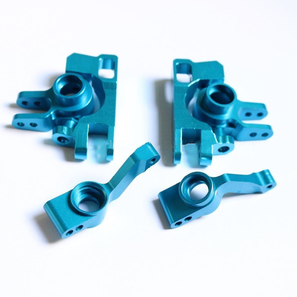 Precision anodized aluminum parts with blue color<br>