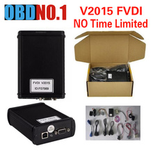 2017 V2015 FVDI Full Version Read Pin Code FVDI abrites 18 Software Diagnostic Tool for Audi for VW NO Time Limited  In Stock