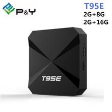 Android tv box T95E S905W Quad-Core Andorid 7.1 TV BOX 2GB/8GB 2.4GHz WiFi Google Play Store Pre-installed Media Player IPTV Box(China)