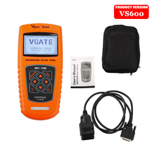 2016 New Vgate Scan Tool VS600 VAG OBD2 EOBD Scanner Automotive Auto Diagnostic Tool Scaner Car Escaner Automotriz Universal(China)