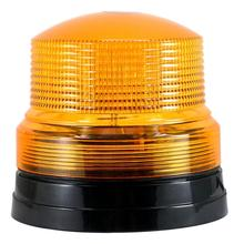 VODOOL 12V High power Amber Car Truck School Bus Magnetic Light LED Emergency Beacon Flash Strobe Warning Light Amber 12V