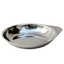Stainless steel condiment dish seasoning dishes  condiment dishes Sauce dishes sauce vinegar tableware dinner plates