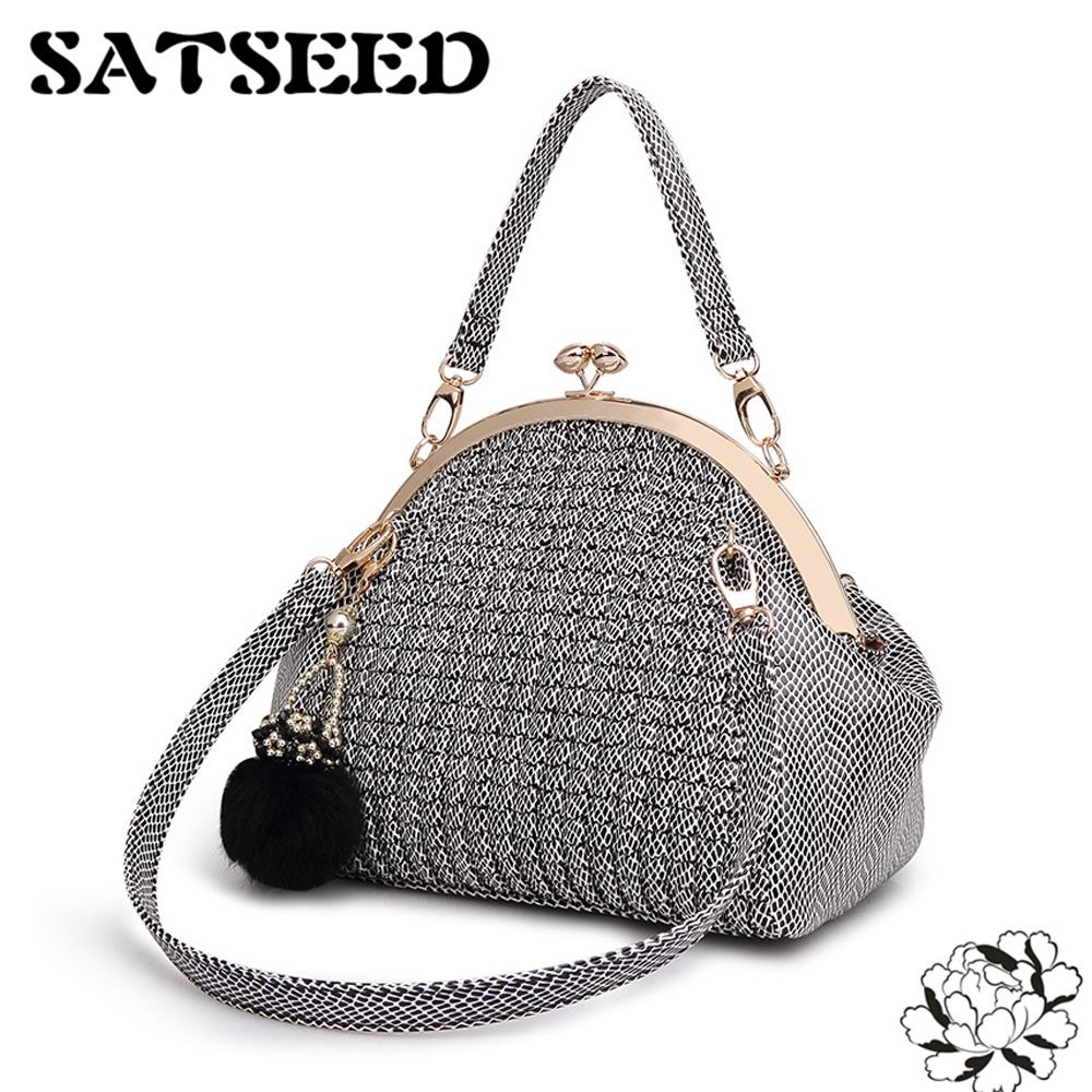 Brand Women Bag Handbag Shoulder Bags Handbag Cross Clip High-end Leisure Contracted 2017 Bags<br>