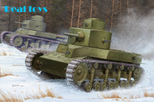 Hobby Boss model 82493 1/35 Soviet T-24 Medium Tank plastic model kit