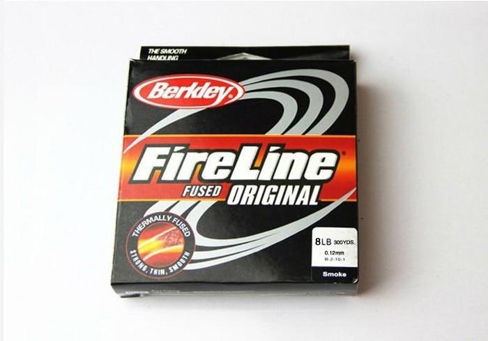 Tresse Berkley Fireline  270 Mètres 6 à 60 Lb