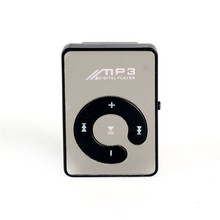 2017 China Supplier Mini MP3 Music Player Mirror Clip Support 8GB SD TF Card USB Digital 6 Colors 7529