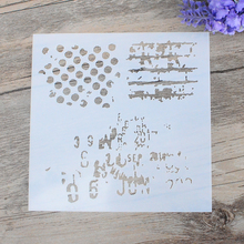 DIY Craft Layering Polka Dot Stencils For Walls Painting Scrapbooking Stamping  Album Decorative Embossing Paper Cards