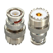 SO239 UHF female connector male BNC coaxial RF new adapter(China)