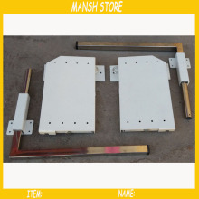 DIY Murphy Wall Bed Mechanism 5 Springs Bed Hardware Kit Fold Down Bed Mechanism For 0.9-1.2m Bed(China)