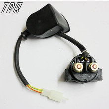 TDR Motorcycle Accessories GY6 Scooter Starter Relay Solenoid 50 125 150cc For Yamaha Honda Suzuki KLX KTM HHY