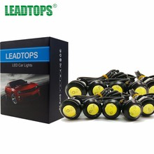 10pcs 18/23mm LED DRL Eagle Eye Daytime Running Light Parking Lights Source For Renault Ford Toyota Bmw Vw Lada Car Styling AE(China)