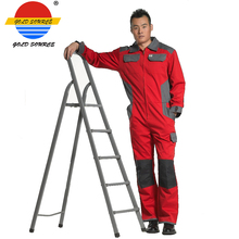 Ultra Durable Vermilion Boiler Suit Twill Safety Coverall Workwear(China)
