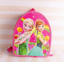 1pc 29*23*13cm Anna and Elsa SchoolBag Daypack Mini PP Gift Bag Cartoon Theme Kid Boy Birthday Party supplier Party Favors