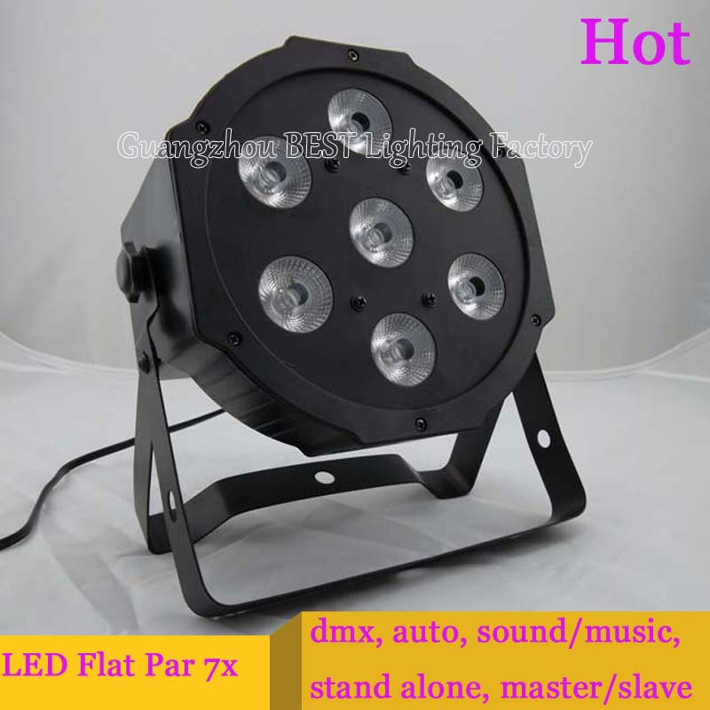 2pcs/lot Fast Shipping American DJ flat led par Panel Wash RGB Effect Light with DMX 3/7 Channels<br>