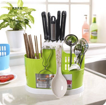 1PC Multifunction kitchen Tableware Shelving Dish Rack Drain Chopsticks Drainer Storage Rack Creative Practical Plastic LF 102