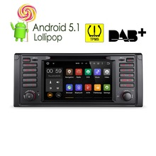 "XTRONS 7 ""Android 5.1 Car DVD Player Quad Core 1080P TPMS Video GPS Navigation Screen Mirror OBD2 For BMW 5 Series/X5 E53 E39"