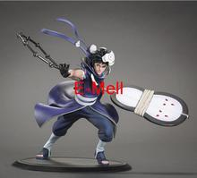 Cosplay 18cm/7.1'' Naruto Akatsuki Uchiha Obito PVC GK Garage Kits Action Figures Toys Model