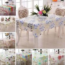 PVC Waterproof & Oil Proof Tea Table Cloth High Quality Country Style Hotel & Home Decorative Tablecloth Elegant Table Cover 3