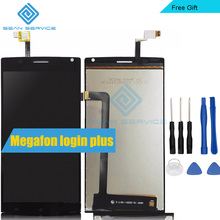 "For Megafon login plus LCD Display + TP Touch Screen Digitizer Assembly Lcds 5.5""For MegaFon Login+MFLoginPh TOPSUN_G5247_A1"