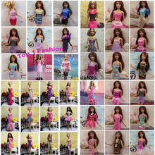 "wholesales 100pieces/lot original brand Doll's dress Clothes Gown for 11.5"" doll dress"