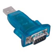 New USB 2.0 to RS232 Serial Converter 9 Pin Adapter for Win7/8 Wholesale Drop Shipping(China)
