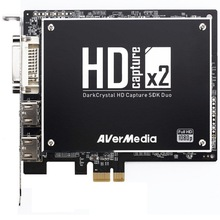 DarkCrystal HD Capture SDK Duo C129 1080p HD Capture Card PCI-E 2 HD Sources 2 SD Sources Capture Video(China)