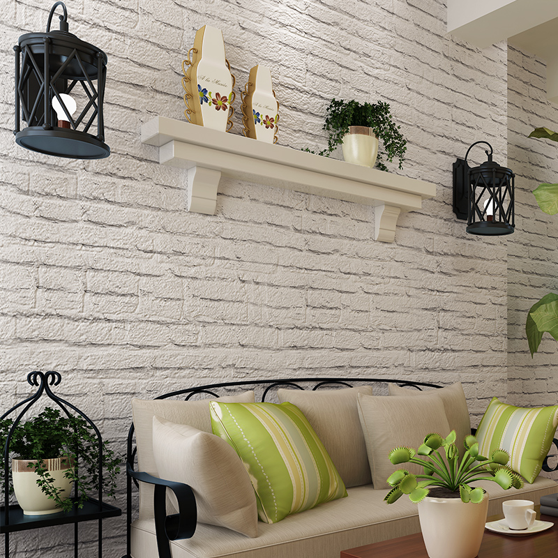 grey bricks wallpaper eco-friendly pure paper wallpaper background wallpaper<br>