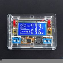 DC-DC Step Down Power Supply Adjustable Module With LCD Display With Housing Case(China)