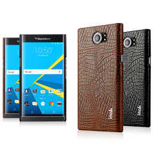 For BlackBerry Priv Case 5.4'' IMAK Brand High Quality Crocodile Grain PU Leather With PC Back Hard Cover For BlackBerry Venice