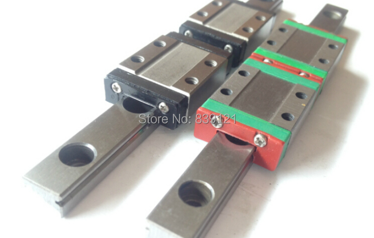 good China quality guideway precision linear guide slide block 2pc MGN7C with rail 300mm one set <br><br>Aliexpress