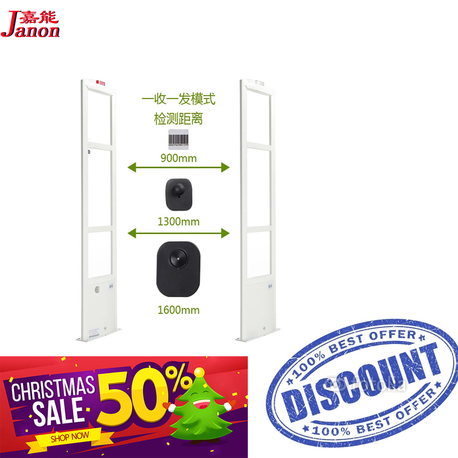 The economical RF8.2Mhz eas security system, anti shoplifting system x2 piece into a set with 3800 board<br><br>Aliexpress