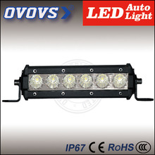 ovovs Factory prices single row led bar 30w E-pistar led light bar vehicles 2202 lm for off road trucks 4x4
