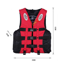New arrivals Polyester Adult Kids Life Jacket Universal Swimming Boating Ski Drifting Vest With Whistle Prevention life vest(China)