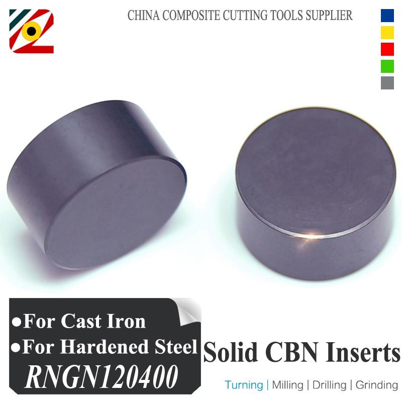EDGEV Solid CBN Inserts RNGN120300 RNGN120400 RNMN1203 RNMN1204 or RNGN1/2 RNMN1/2 Boron Nitride Round Blade Factory<br>