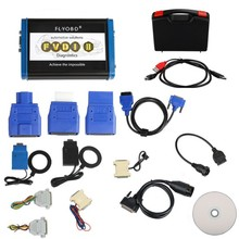 FVDI2 ABRITES Commander For Mercedes Benz / Smart / Maybach With Software For One Small Car/DAF/Tag/VVDI ImmoPlus V13.6
