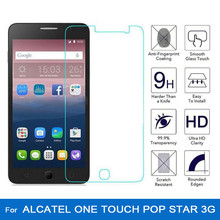 Tempered Glass for Alcatel One Touch pop star 3G 5022 5022D 5022X ot5022 Screen Protector 9H 2.5D HD Premium LCD Protective Film(China)