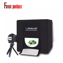 PULUZ light Photo box Soft box Mini photo studio photograghy Softbox Led Photo Lighting Studio Shooting Tent Box Kit