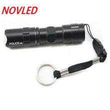 20% off High Quality LED Flashlight Lantern Straight 5 Modes Black CREE Q5 1000 Lumens AA Torch Super Bright tactical flashlight