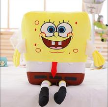 1pcs 60cm Sponge Bob Baby Toy Spongebob And Patrick Plush Toy Soft Anime Cosplay Doll High Quality Gifts For Kids and Girls Toys(China)