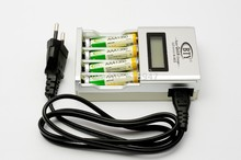 Best Price universal battery charger Smart Rapid LCD AA AAA Ni-MH Ni-Cd Rechargeable Battery Charger BTY N903 BHD(China)