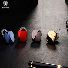 Baseus Mini Bluetooth Earphone Hands-free Wireless Bluetooth Headset Headphone with Mic 4.1 Ear Hook Earbuds Earpieces For Phone(China)