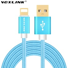 Fast Charger For iphone 6 Cable VOXLINK Original USB Cabel 1M/3FT For i6 iphone 6 s plus i5 iphone 5 5s 5c 5se ipad air 2 ios 9