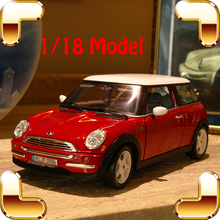 Christmas Gift Mini C 1/18 Metal Model Sedan Car Big Vehicle Model Scale Collection Car Fans Showcase Present Decoration Alloy(China)